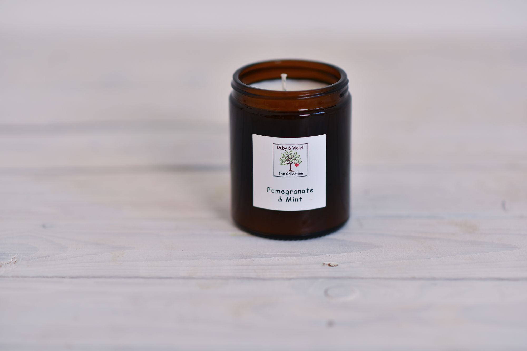 Scented Jar Candles | Ruby and Violet